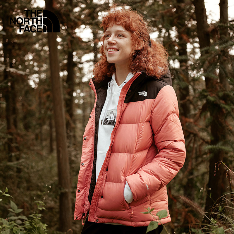 Classic the north face north down jacket for women's comfort and warmth on the new 3vrd