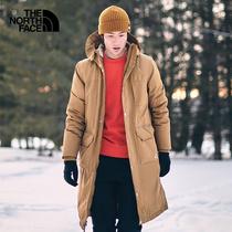 中老年羽绒服爸爸男装中年父亲冬季短款老人爷爷加厚男士大码外套