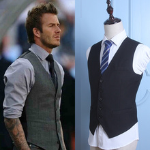 Ruipe men's suits, vest, men's code, autumn vest, business, leisure, Korean, body suit, vest.