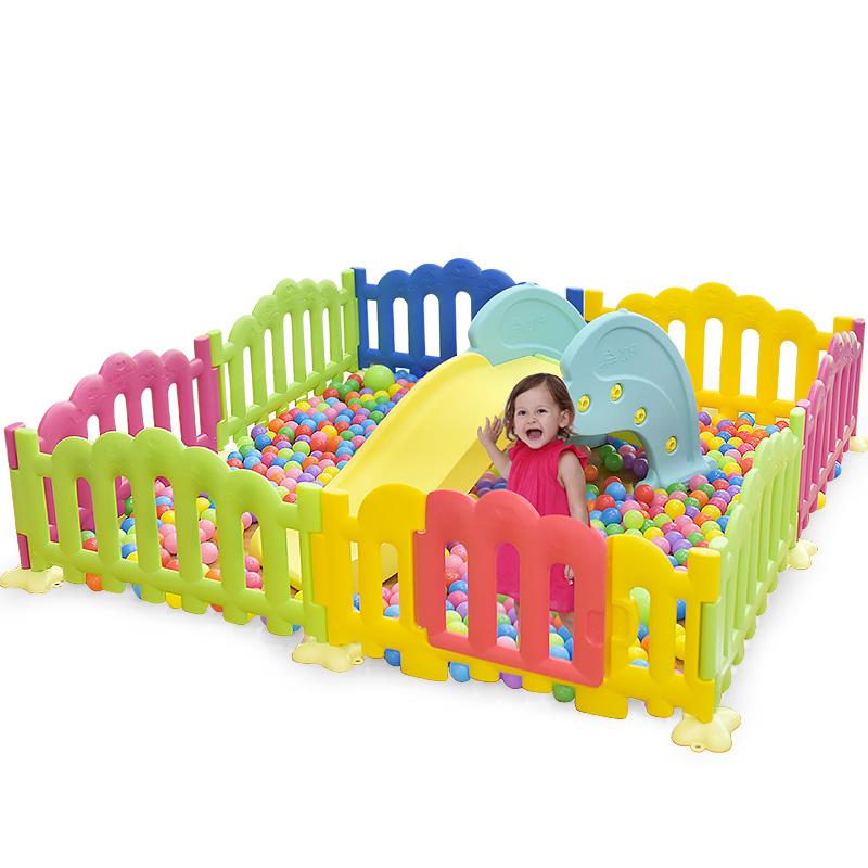澳樂遊戲圍欄塑料嬰兒童欄杆 幼兒園柵欄4S店圍欄遊樂場親子樂園
