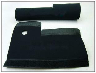 自行车前叉套前叉套 保护套 保护贴 v刹前叉保护套一对价
