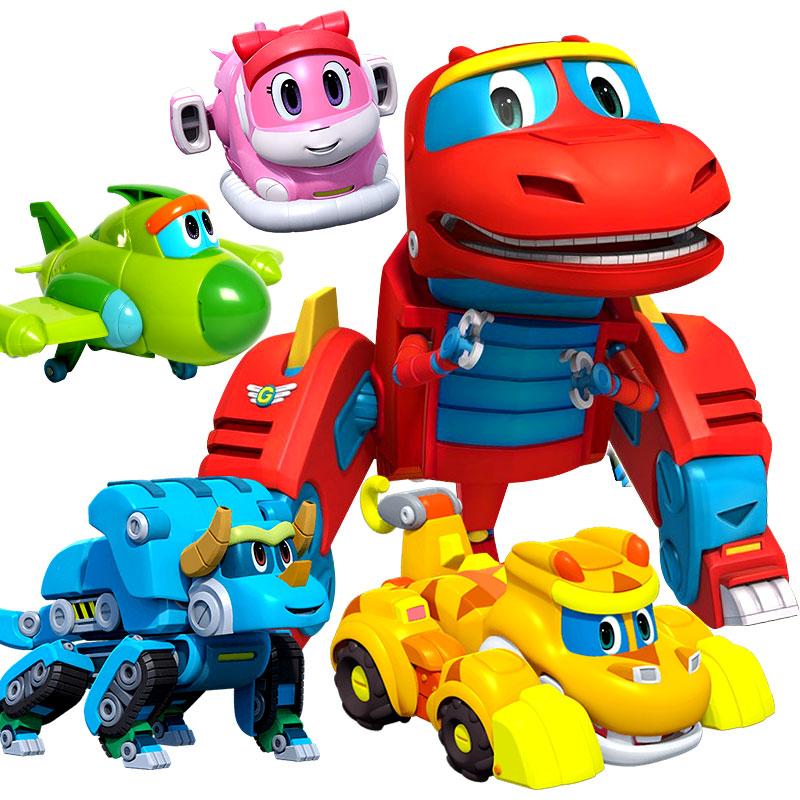 帮帮龙儿童玩具正版全套大号维斯出动发声佩利变形探险队汤姆男孩