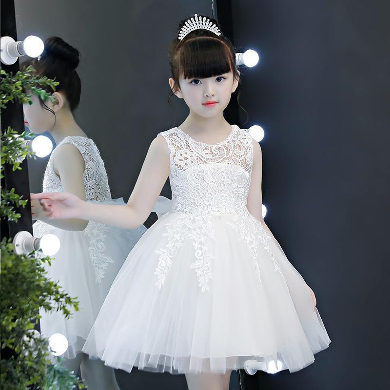 女童连衣裙夏装公主裙蓬蓬纱2018新款韩版夏季儿童装女孩洋气裙子