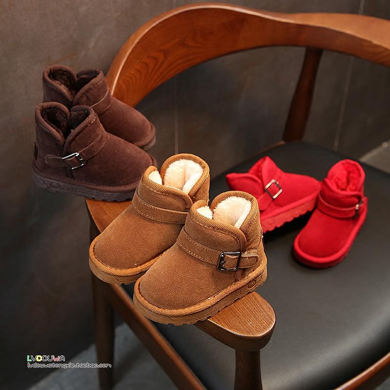 Каждый день специальное предложение зима ребенок снег сапоги зимние модели теплый девочки ботинки ботинки трубка ботинок ребенок обувной мальчиков мокасины