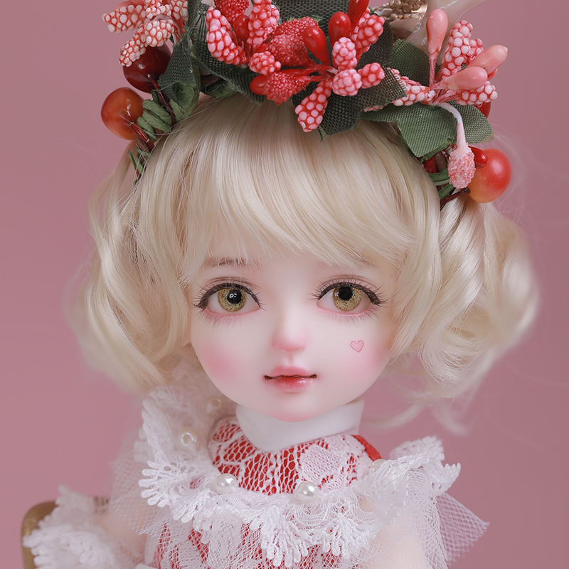 Bjd6 female doll Ruri glass friend gift SD hand joint doll simulation doll smile