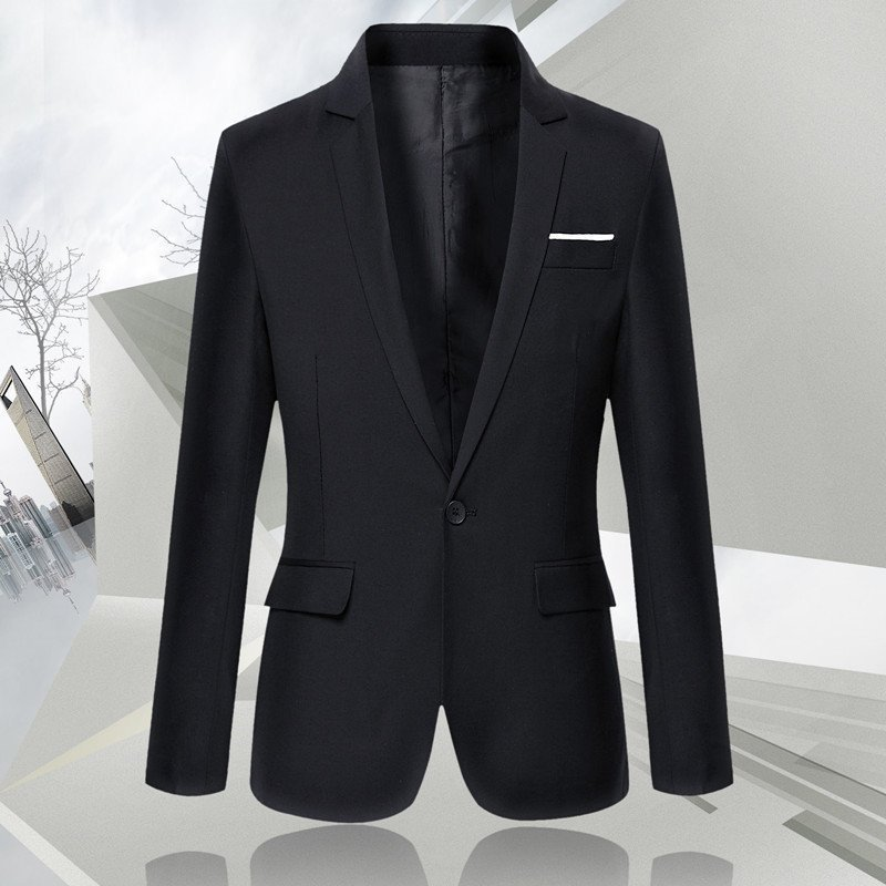 New casual mens suit coat in spring and autumn of 2020