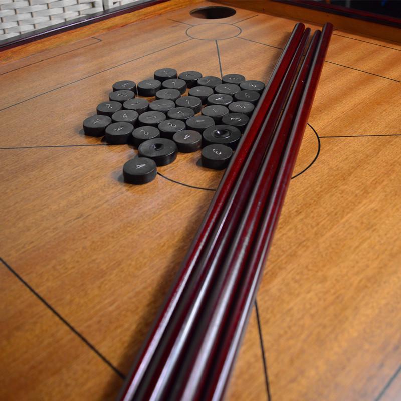 Развлекательные шахматные фигуры красный Mukang мяч стол плита отдых стол шахматная фигура досуг мяч шахматы кусок крона шахматный клуб