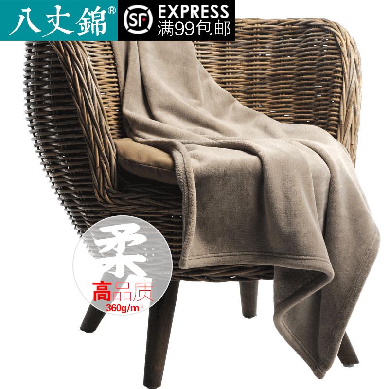 单人午休午睡珊瑚绒小毯子盖腿空调办公室毛毯垫床单加绒女被子冬