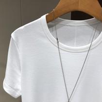 加单到货! 价格好爆 百搭基本款 修身显瘦黑白短袖T恤打底上衣女