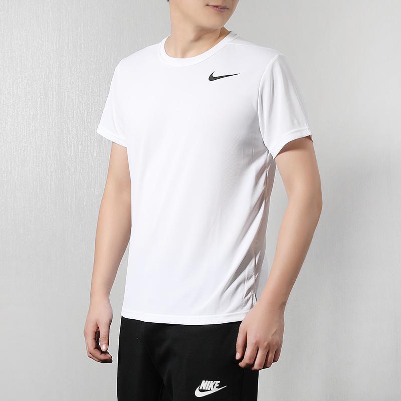 限100000张券耐克男装宽松透气健身短袖2019夏季款运动休闲上衣T恤AJ8022-100