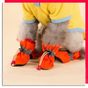 宠物软室内底鞋子小狗靴子狗狗防脏脚套泰迪法斗柯基银狐博美比熊