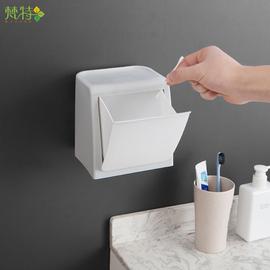 卫生间厨房壁挂式垃圾桶桌面垃圾收纳盒免打孔家用客厅小号拉圾筒