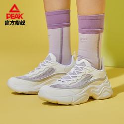 匹克时尚休闲鞋女款时尚潮流经典增高百搭舒适低帮运动鞋老爹鞋