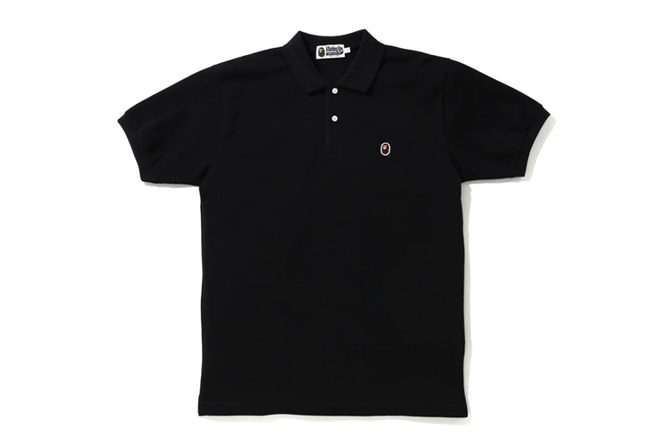 四季出品 訂貨 BAPE APE HEAD ONE POINT POLO衫 20SS