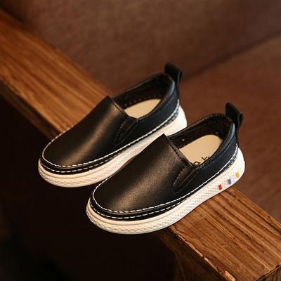儿童运动鞋男童鞋女童休闲鞋韩版中大童一脚蹬懒人鞋子儿童板鞋