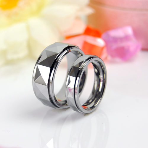 Real man jewelry tungsten couple ring exclusive design rotation transfer ring creative trendsetter ring