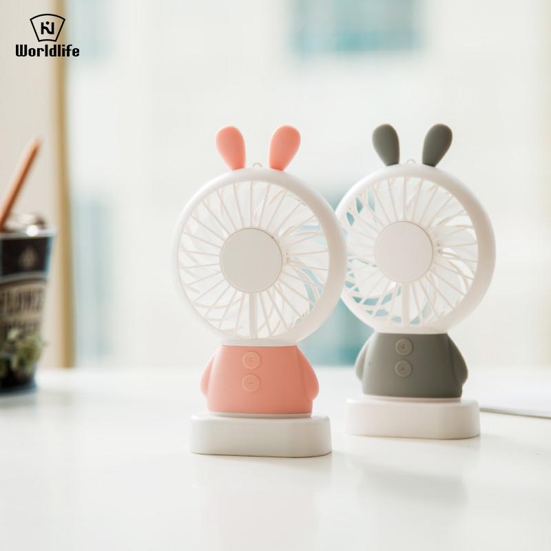 日本品牌小风扇 迷你风扇 USB可充电宿舍寝室便携随身小电风扇