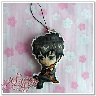 6 Crown roaming mobile chain stitch embroidery Gintama earthwork unfinished 14 Lang YH0101
