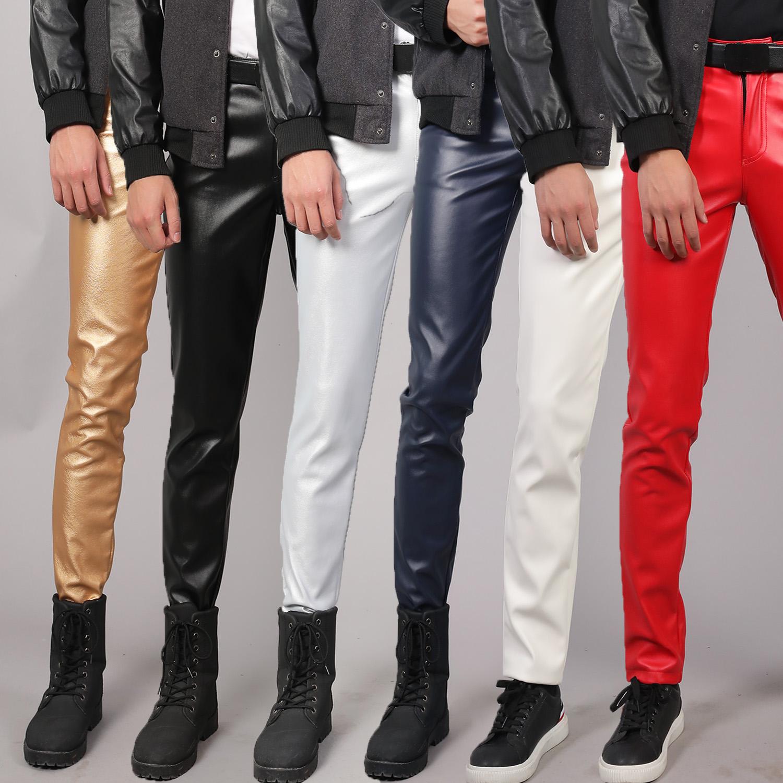 Кожаные брюки Артикул 613075513168