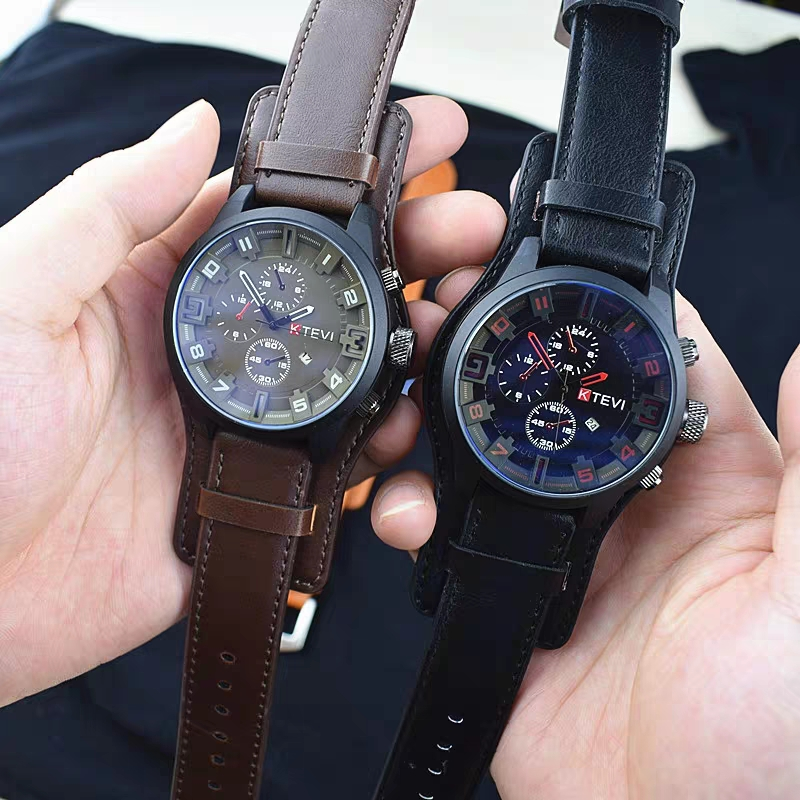 China Police movement watch male student special soldiers voice, the same fashion tiktok, Korean character large dial waterproof.