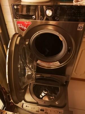 用过的朋友讲讲LG WDQH451B7HW滚筒洗衣机质量差不差??评测LG WDQH451B7HW好吗