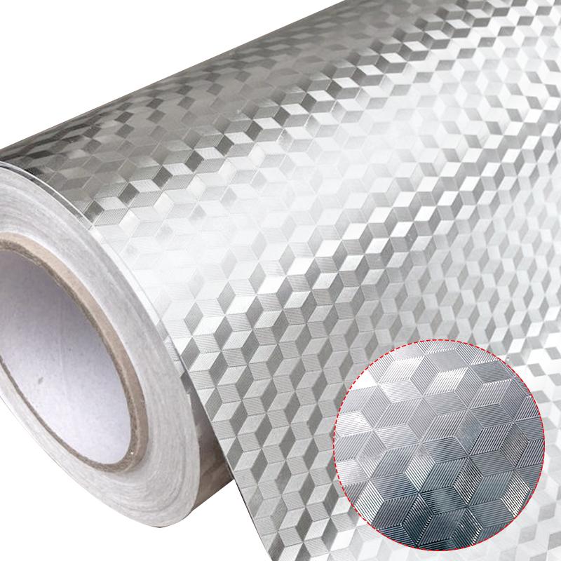 【防油神器】厨房耐高温自粘瓷砖贴铝箔纸