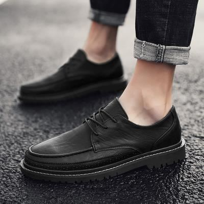 New Martin boots in early autumn of 2019 mens fashion low top mens formal single shoes business casual mens shoes