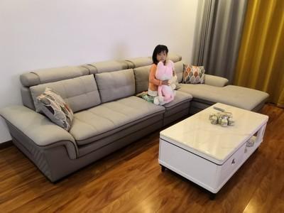 双虎家私布艺沙发505A买了不后悔?说实话