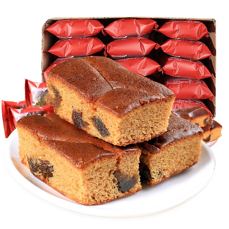 枣糕纯手工老北京红糖发糕红枣糕正宗老面包整箱早餐糕点零食