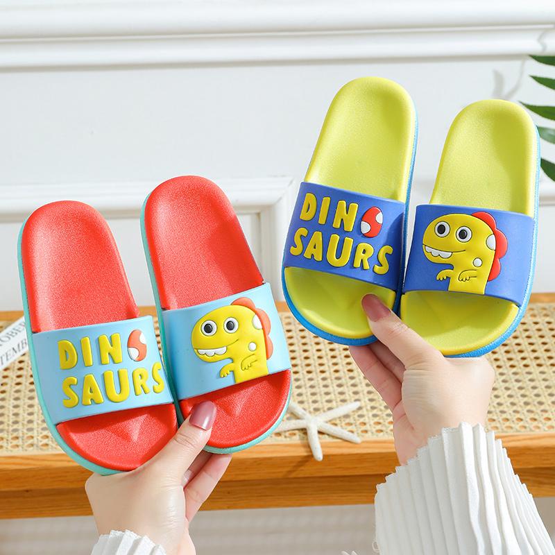 儿童拖鞋夏男童女童宝宝室内家用防滑软底可爱卡通小孩公主凉拖鞋