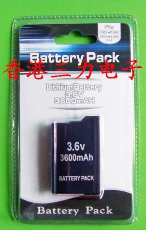 * гонконг три сила электронный *PSP2000 аккумулятор /PSP2000 3600 батарея...миллиампер