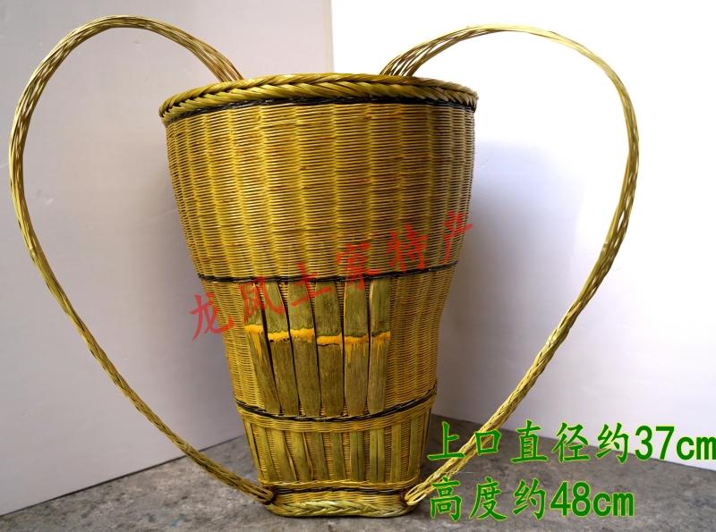Хунань река сянцзян западный дракон гора специальный свойство исключительно вручную чистый бамбук компилировать земля дом специальный цвет метр задний корзины ( специальная марка )