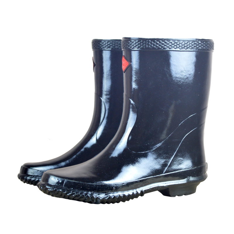 Insulated rain shoes anti high voltage special electrical protective rain shoes rubber insulated rubber boots