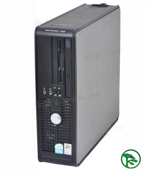Special second hand computer dual core Dell 965 desktop gx745 (P4 3.2 + 2G + 80g + DVD)