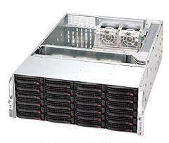 超微 CSE-847E16-R1LPB 4U 1W冗余电源 36盘位热插拨机箱