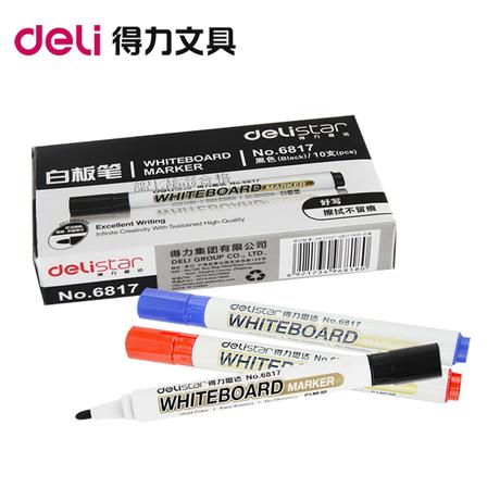Компетентный 6817 single head белая доска карандаш легко вытирать протирать вода белая доска запись карандаш шоу доска карандаш превосходное соотношение цены и качества подлинный