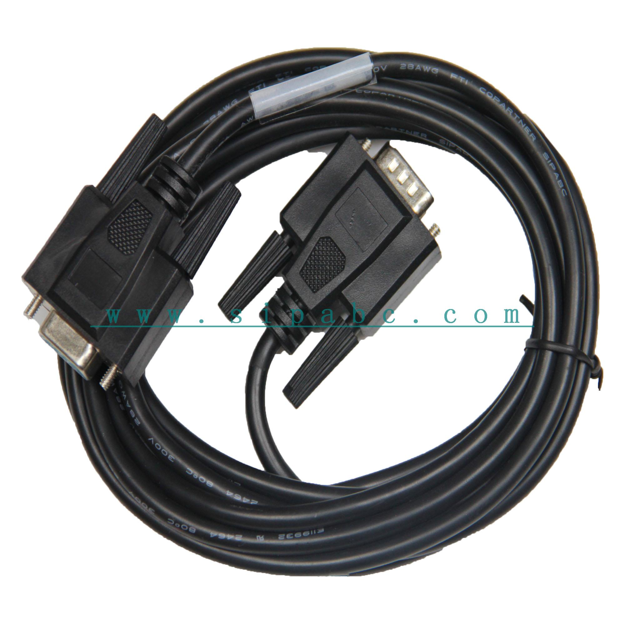 兼容6ES7 901-1BF00-0XA0 西门子TP270触摸屏编程电缆 DB9F-DB9F