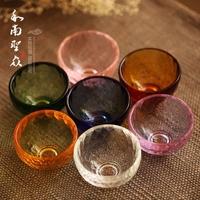 Восемь чашек для подачи воды топленого масла свет Хрустальный подсвечник 7 Чаша чаша цветная Многофункциональный набор из хрусталя среднего размера бесплатная доставка по китаю
