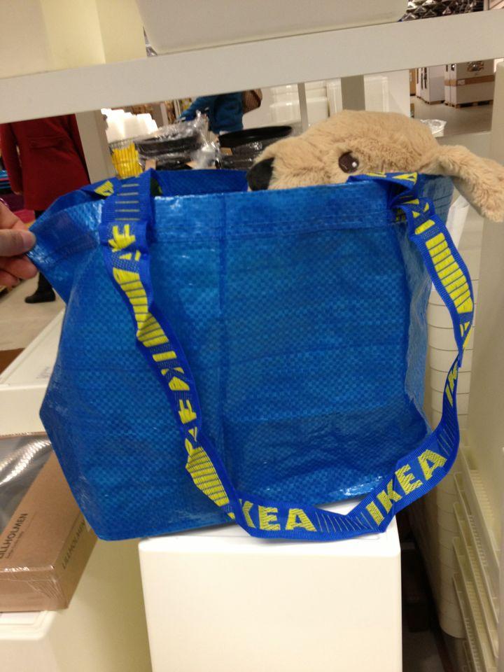 小点宜家弗拉塔 搬运袋 环保耐用购物袋 搬家必备国内代购