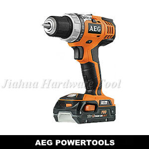 AEG BS18C Li (13mm drill / drill lithium / double stop electric screwdriver / Cordless Drill Driver)