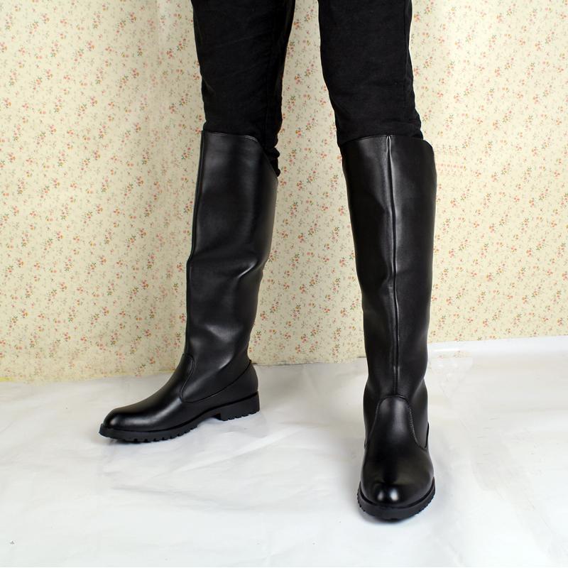 2103 новые ботинки корейской версии британской мужской моде случайные Сапоги высокие сапоги колено высокие сапоги Мартин сапоги