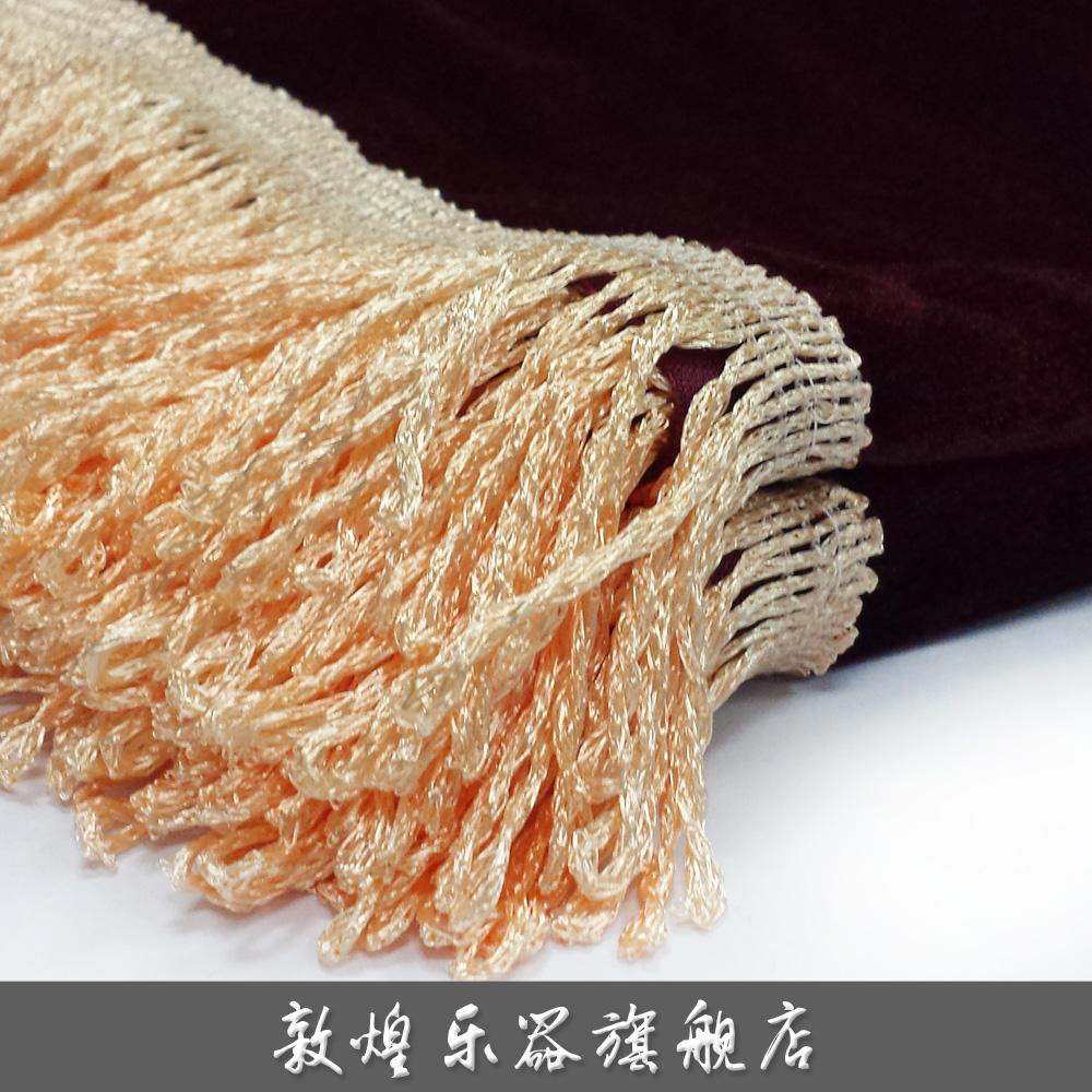 Честный блестящий древний чжэн (гусли) крышка бархат пылезащитный чехол
