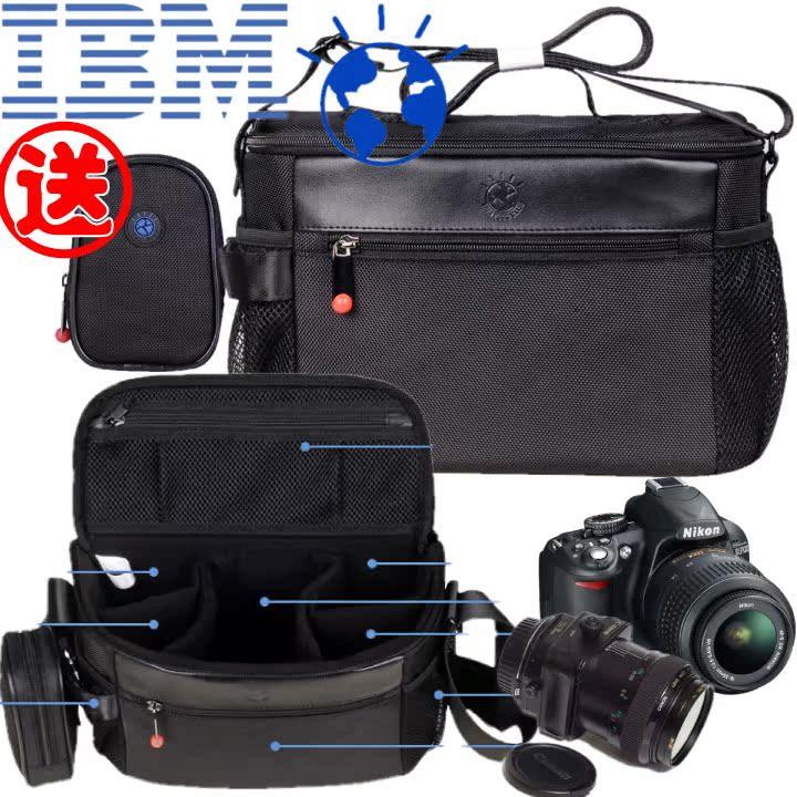 Genuine IBM smart earth multifunctional digital bag professional SLR bag SLR camera bag waterproof camera bag
