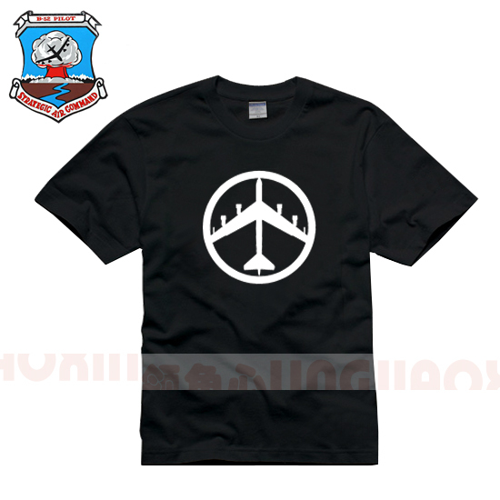 Stratospheric fortress B52 bomber Strategic Air Force military weapon weapon cotton T-shirt