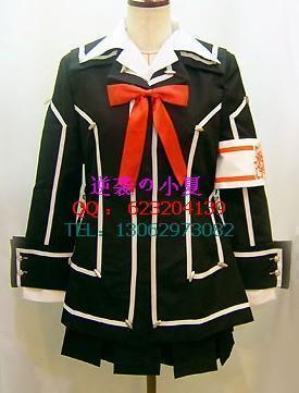 皇冠漫谈社 COSPLAY服装定做吸血鬼骑士日间部优姬制服COS服