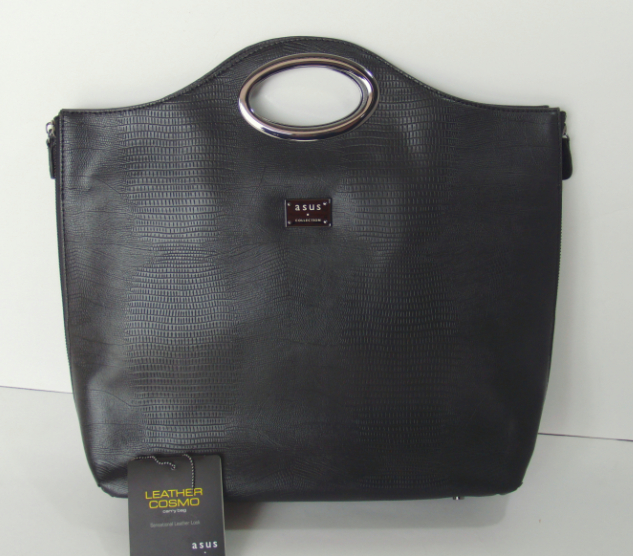 Recommend ASUS leather Cosmo 12 inch Laptop bag womens Cowhide business handbag