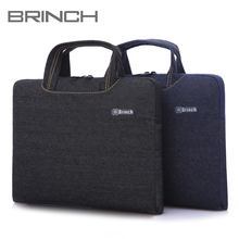 English 208 denim ultrathin laptop bag laptop computer bladder bag 15 ms 13 male 14 inches
