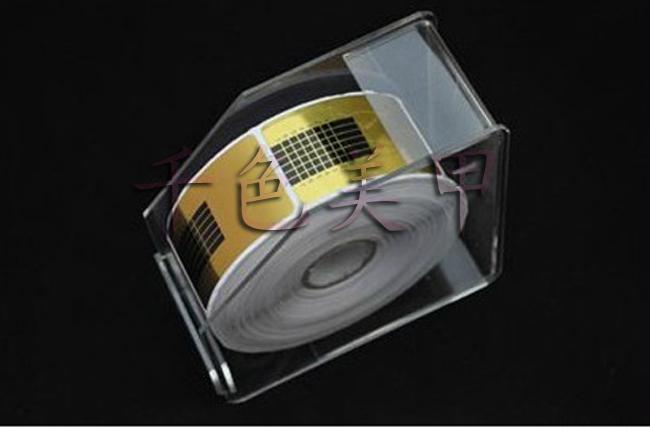 Ногтей акриловые искусство магазин должен иметь инструмент лоток лоток помещается Специальный кристалл фототерапии ногтей