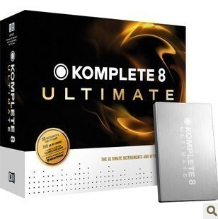 Crown NI Ultimate Edition Native Instruments Komplete 8 Ultimate