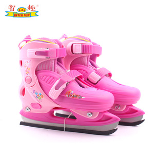 Inter Fun authentic skate shoes skate shoes children roller skates adjustable roller skates Professional hockey skates draw
